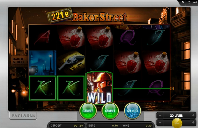 Игровой автомат 221B Baker Street