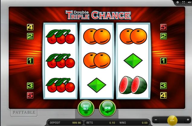 Игровой автомат Double Triple Chance