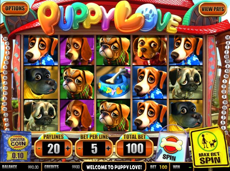 Игровой автомат Free Puppy Love