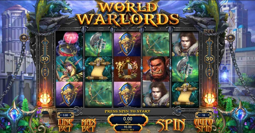 Игровой автомат World of Warlords